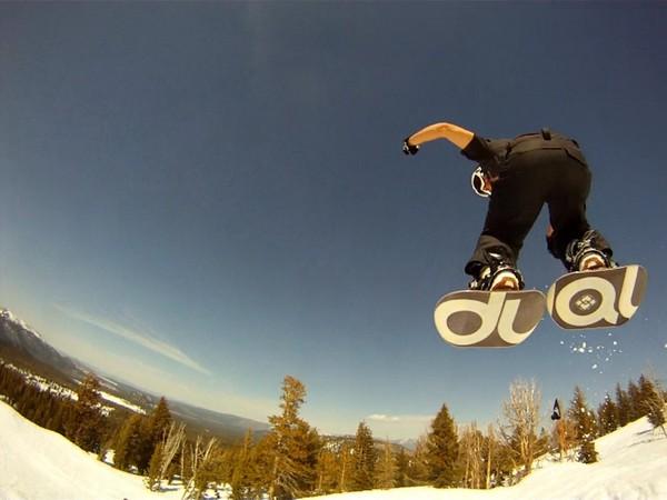 Dual Snowboards – сноуборд, похожий на лыжи или коньки