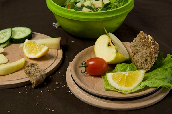 Дизайн-проект самой удобной посуды для завтрака Healthier lunch break от Sabine Staggl