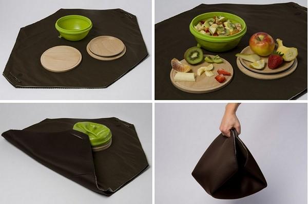 Набор посуды для завтрака с собой. Healthier lunch break от Sabine Staggl