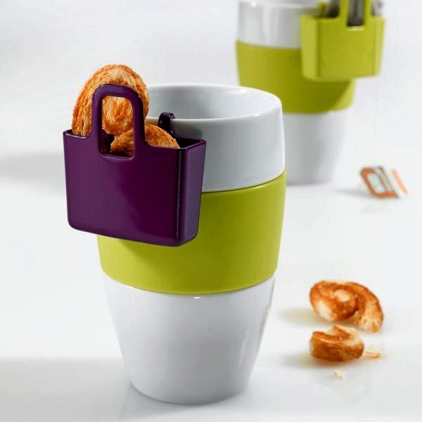 Mini Cup Carry-All, фирменная чайная чашка в комплекте с сумочкой для снеков