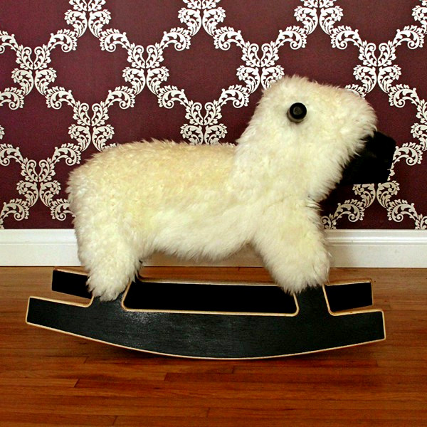 Забавное детское кресло Rocking Sheep
