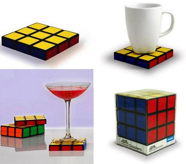 Подставка-головоломка в виде Кубика Рубика