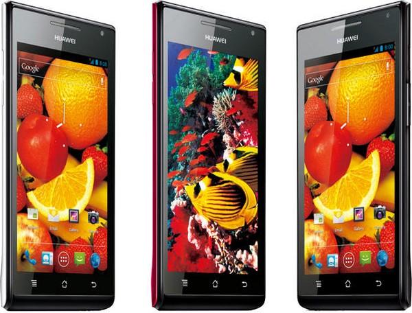 Huawei Ascend P1 S – самый тонкий в мире смартфон на Android