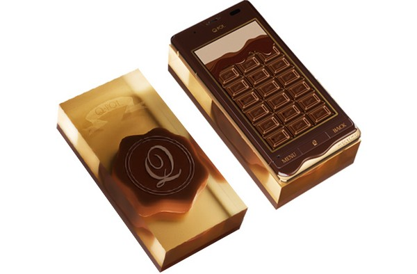 Шоколадная телефонная плитка Q-pot Phone
