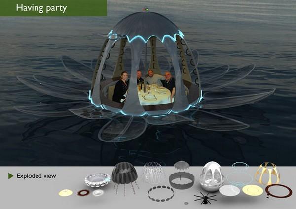 Fiorella Yacht – яхта-яйцо, яхта-цветок