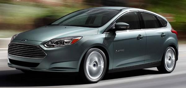 Электрический Ford Focus