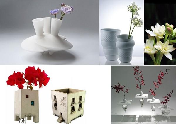 Обзор необычных дизайнерских ваз для цветов
