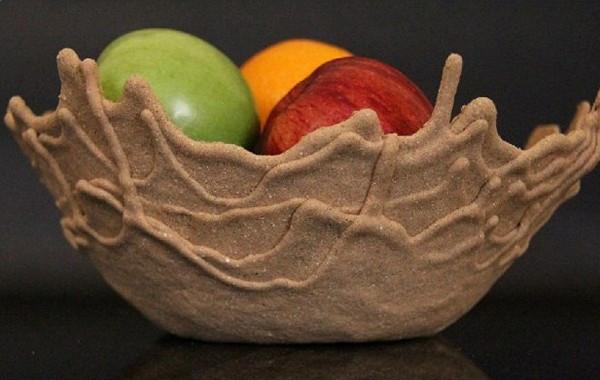 Sand Bowl, песчаные чаши от Leetal Rivlin