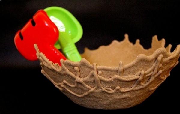 Sand Bowl, идея для дизайнерской посуды, подсмотренная в природе