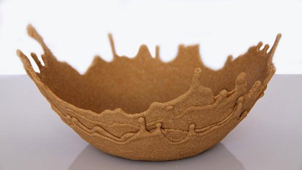 Sand Bowl, песчаная посуда от Leetal Rivlin