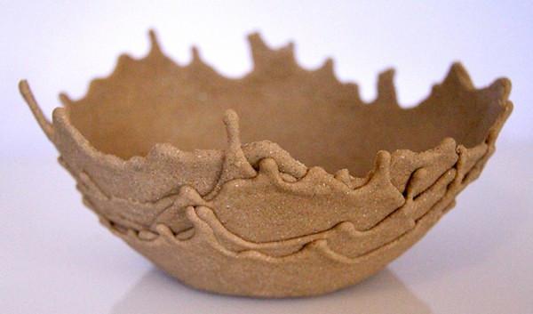 Sand Bowl, дизайнерские чаши из морского песка