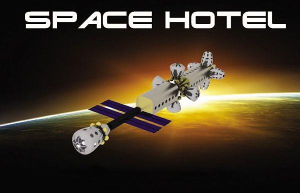 Shamaxi Space Hotel – космический отель для космических туристов