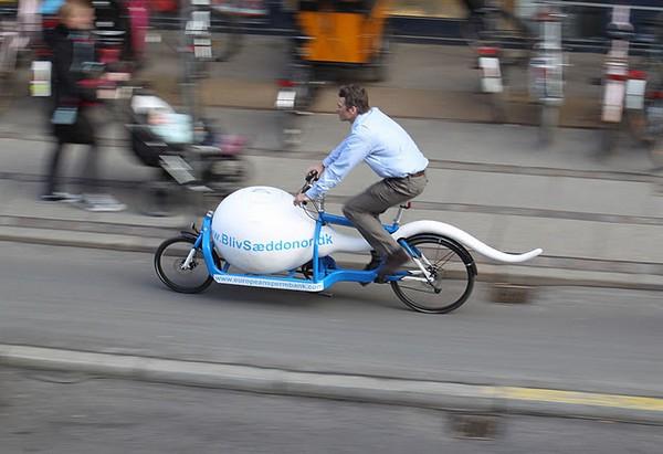 Велосипед Sperm Bike
