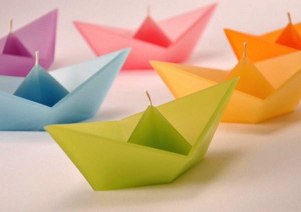 Свечи-кораблики Candle Sail, дизайнер Roman Ficek