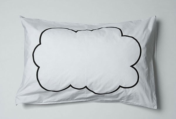 Просто и оригинально, романтические наволочки Dreamy Pillow Cases, украшенные принтом