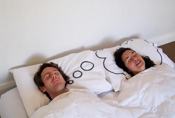 Наволочки Dreamy Pillow Cases, с мыслями о любимом