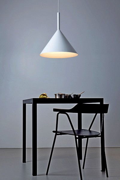Оригинальные светильники Funnel Lamps в виде воронки