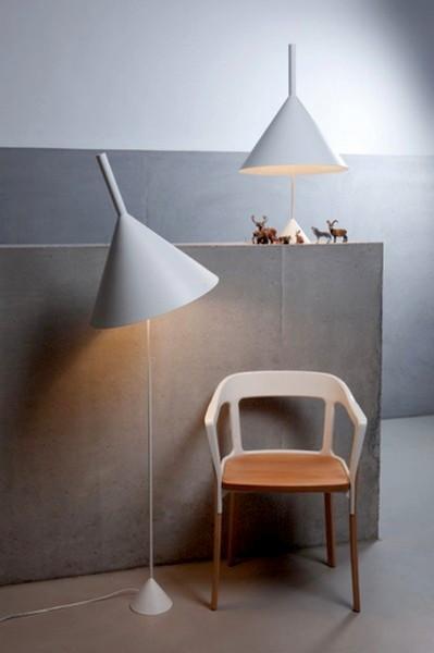 Современные светильники в виде воронки, проект Funnel Lamps для дома и офиса