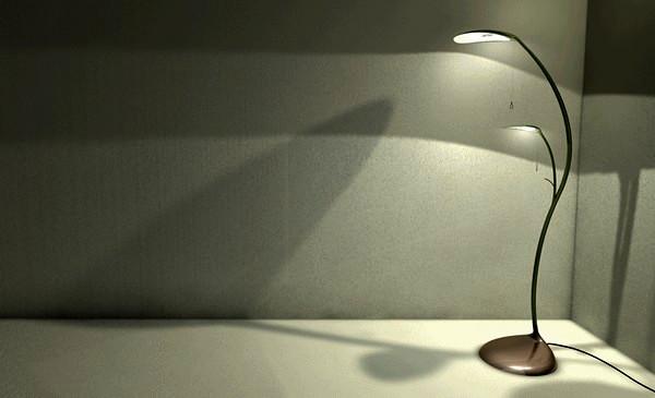Светильник-растение Leaf Lamp от Sofian Tallal