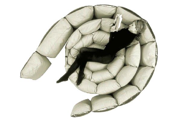 Micama DayBed, необычная мягкая мебель из подушек