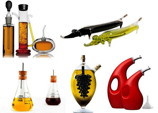 Обзор самых оригинальных емкостей для масла и уксуса