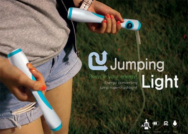 Jumping Light, фонарик в скакалке