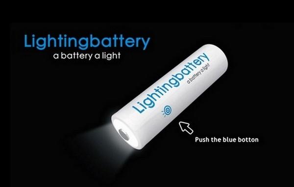 Батарейка-фонарик Battery Light