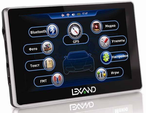 Lexand ST-5350: 5-дюймовый бюджетный GPS-навигатор