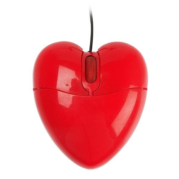 Мышка в виде сердца