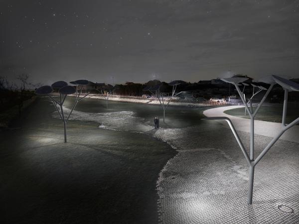 uTree – электрические деревья для «зеленых» городов