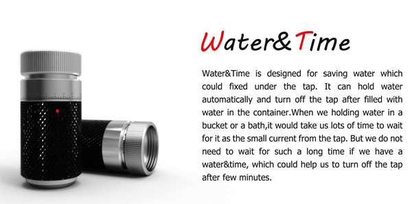 Water&Time – таймер для экономии воды