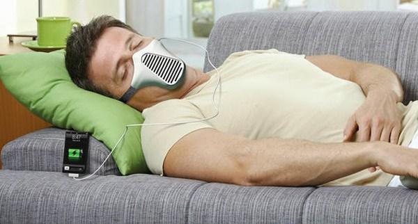 Пока ты спал: маска-зарядка AIRE