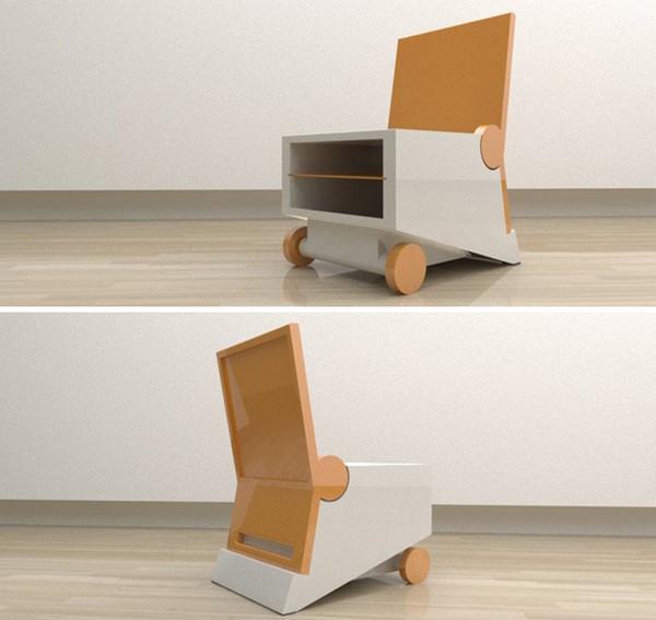 Дизайнерская многофункциональная мебель Flippo chair