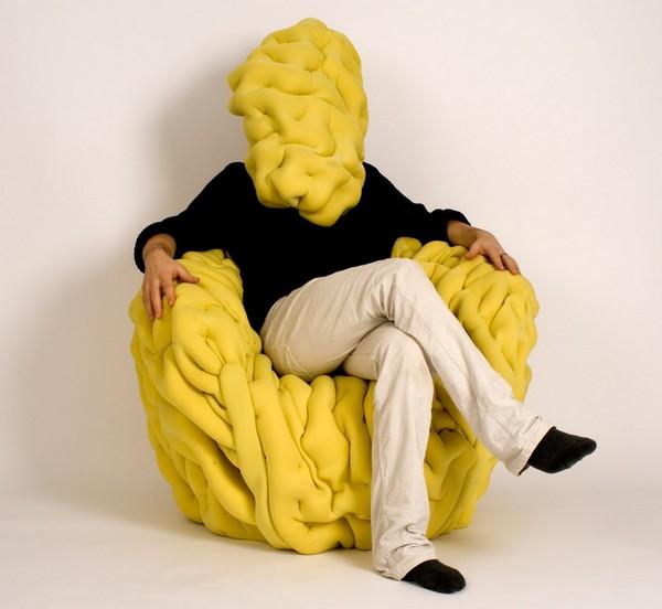 Загадочный проект странного кресла от Маттиса Эно (Mattis Esnault)