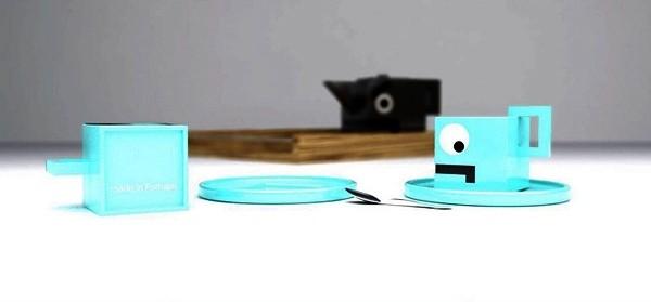 Угрюмый чайный сервиз из фарфора. Проект Nasty Tea Set от Jose Paulo Alves Corceiro