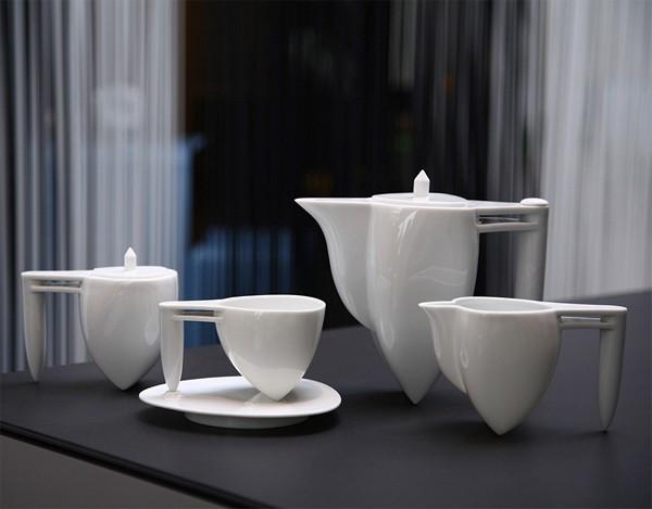 Дизайнерский фарфор. Необычные чайные сервизы из коллекции NewChi
