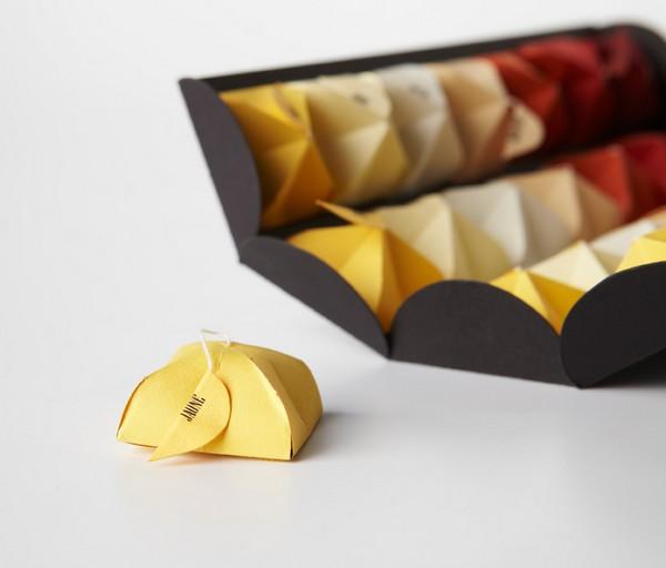 Simply T, оригинальная упаковка-концепт для чая в пакетиках