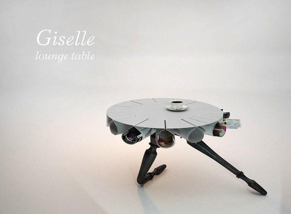 Giselle, столик-балерина от Анны Неклесы