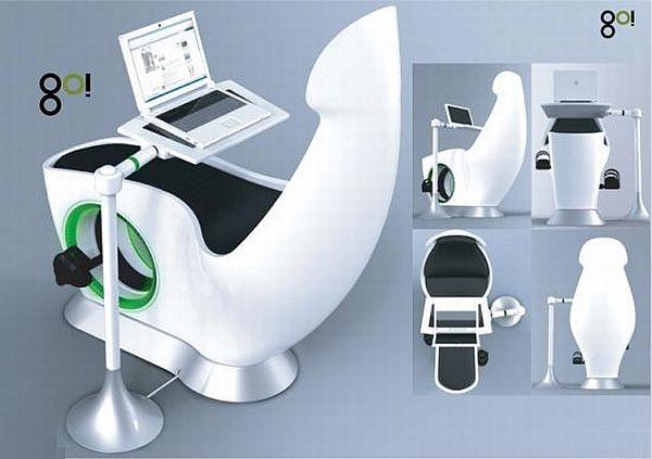 GO – рабочее кресло с секретом