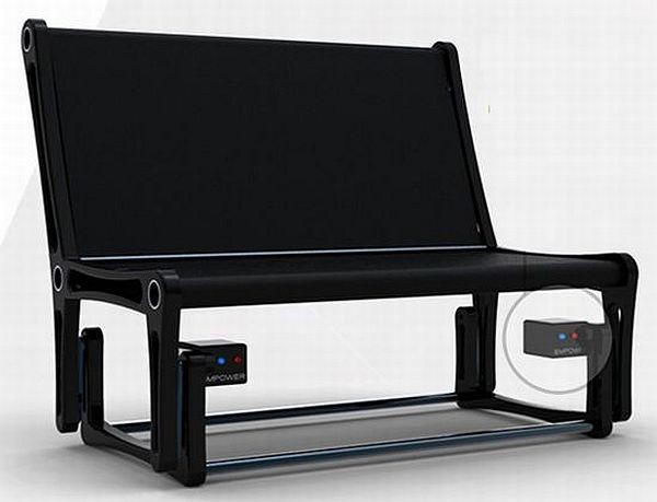 Кресло-качалка Black Rocking Chair