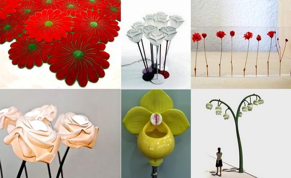 Цветы к 8 марта. Обзор оригинальных дизайн-проектов