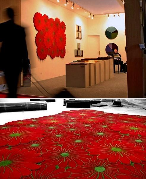 Flower Motif Rugs - цветочная поляна в интерьере квартиры