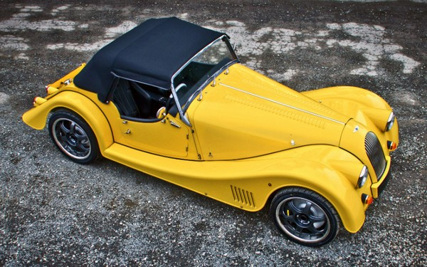 Morgan Plus E – электромобиль в стиле ретро