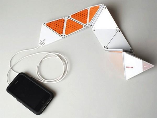 Динамики-оригами для плейеров и телефонов