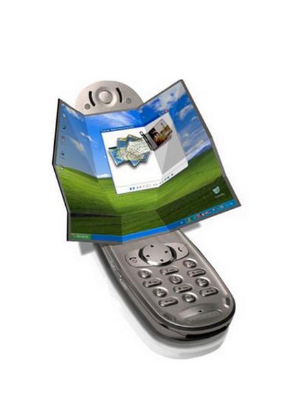 Телефон с дисплеем-оригами от студии Inventables