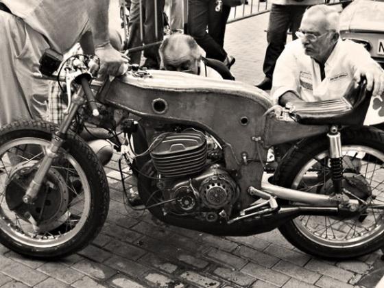 Легендарный гоночный мотоцикл OSSA