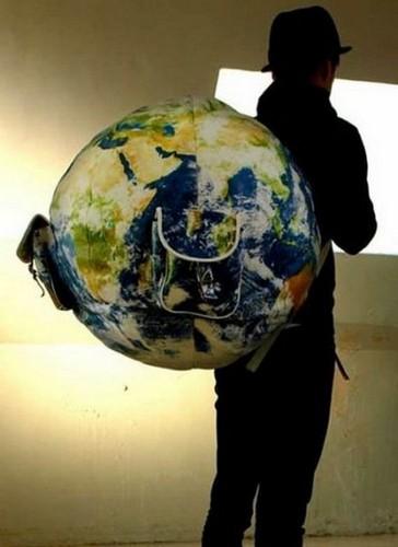 Рюкзак-планета