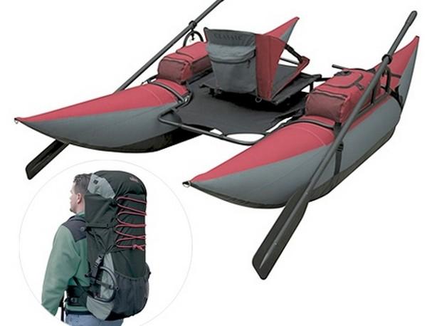 Лодка-рюкзак Backpack Inflatable Pontoon Boat