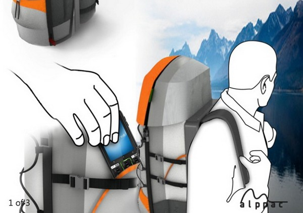 Рюкзак Alppac для путешествующих гаджетоманов