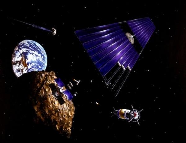 Добыча полезных ископаемых на астероидах. Идея от Джеймса Кэмерона и Google